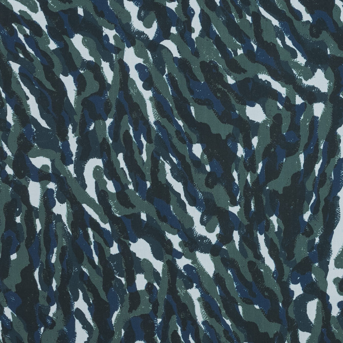 european green and blue camouflage cotton poplin 119283 11