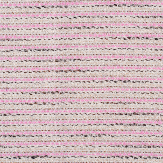 famous nyc designer beige and pink novelty tweed 302391 11