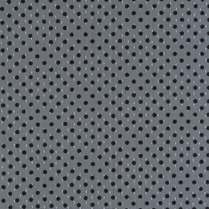 famous nyc designer black and white polka dot tulle 314335 11