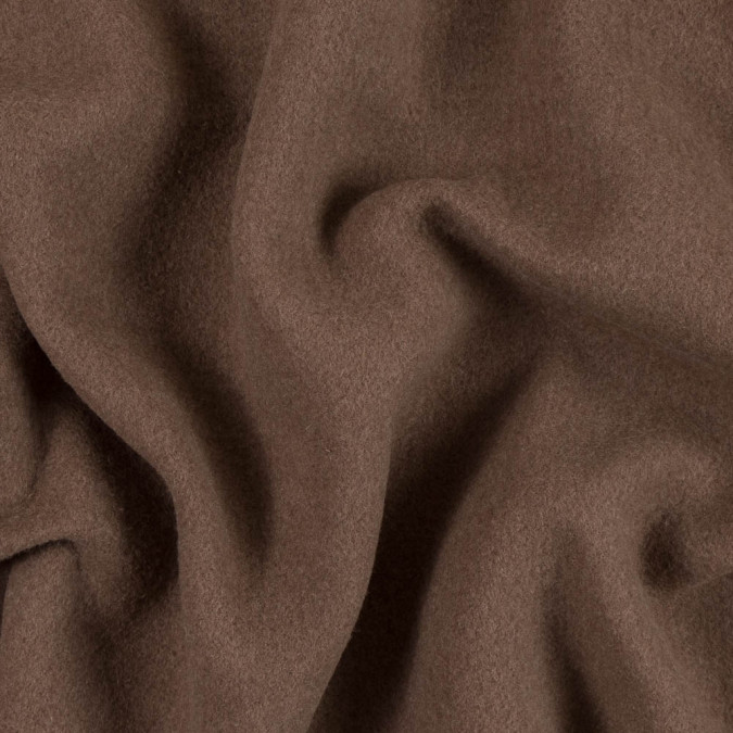 famous nyc designer brown boiled cashmere double cloth 310363 11