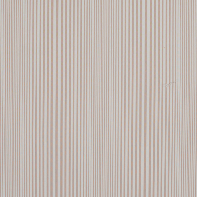 famous nyc designer rose dust and white barcode striped cotton blend 317427 11