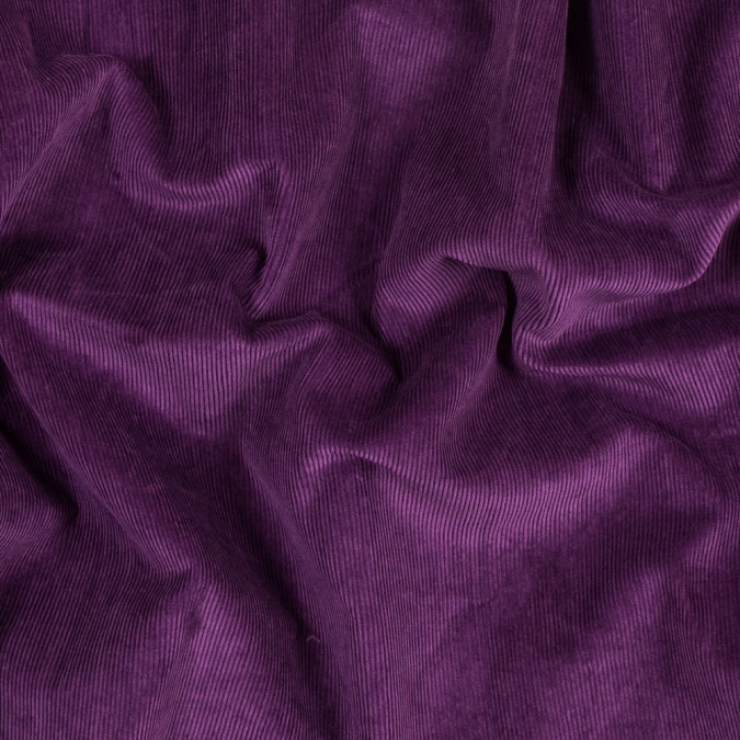 famous nyc designer royal purple cotton corduroy 318938 11