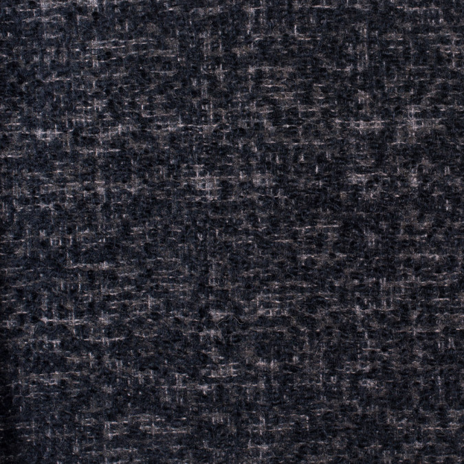 famous nyc designer seriously soft black and gray wool boucle 302458 11