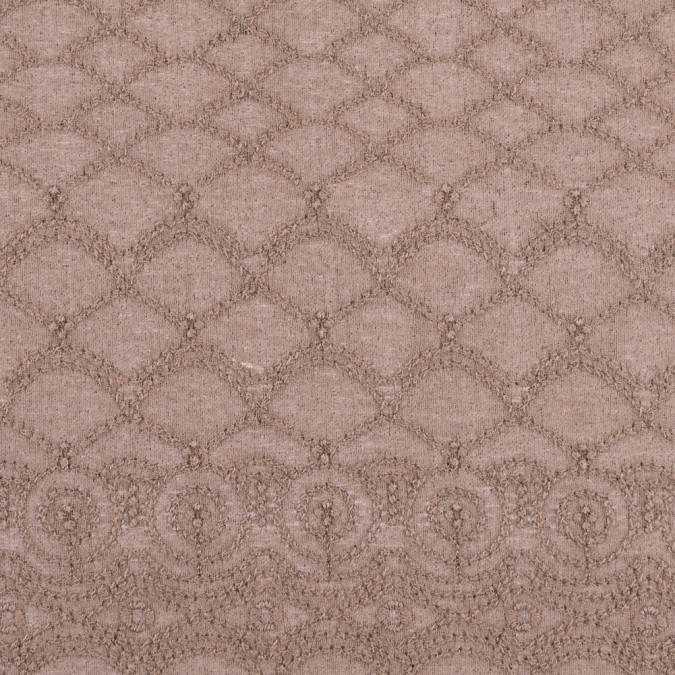 fennel seed beige lacey novelty crepe 312093 11
