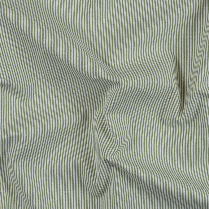fern and white candy striped stretch cotton woven 314141 11