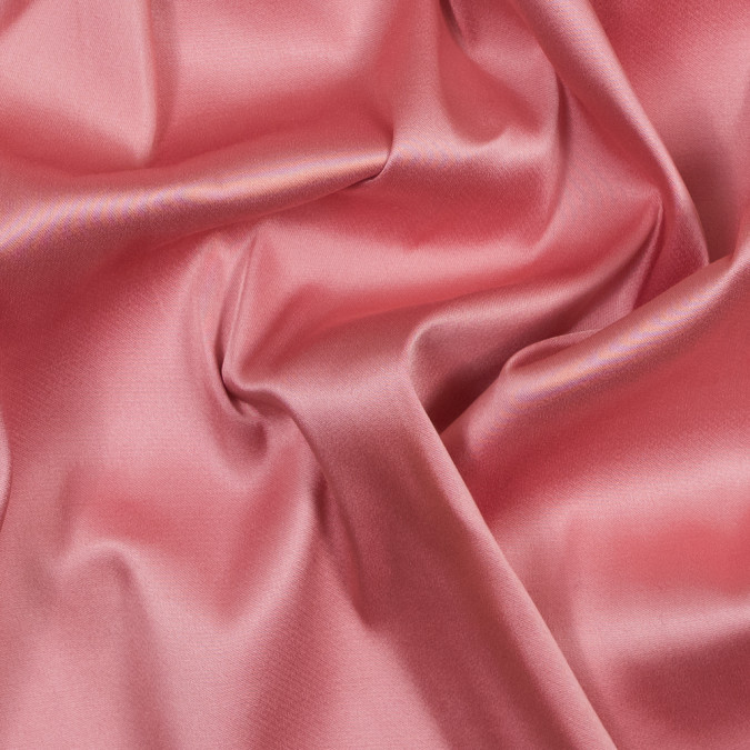 flamingo pink stretch double faced satin 317434 11