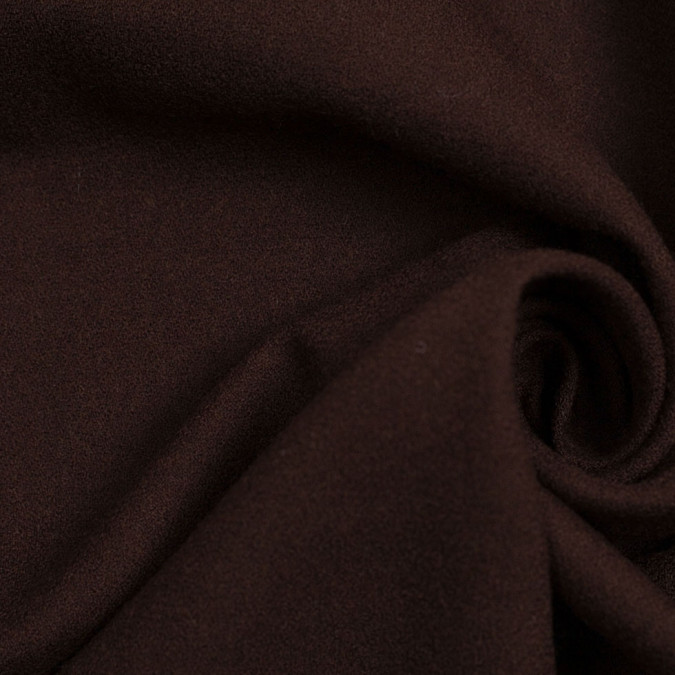 french roast doubled faced wool polyester crepe 306087 11