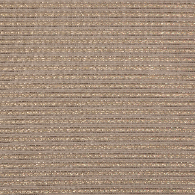 frozen dew metallic gold striped light weight linen 309244 11