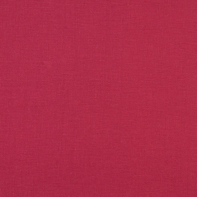 geranium red heavyweight fashion linen 109092 11