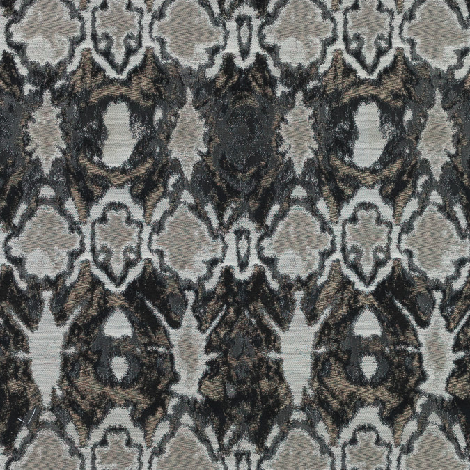 gray and beige abstract jacquard 318616 11