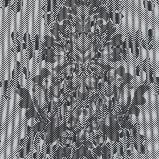 gray and white damask printed polyester woven 317546 11
