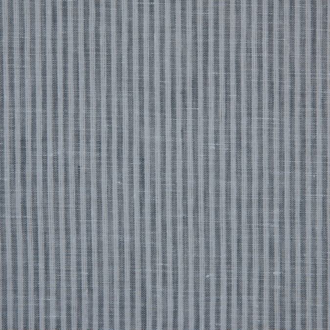 gray candy striped light weight linen 310989 11