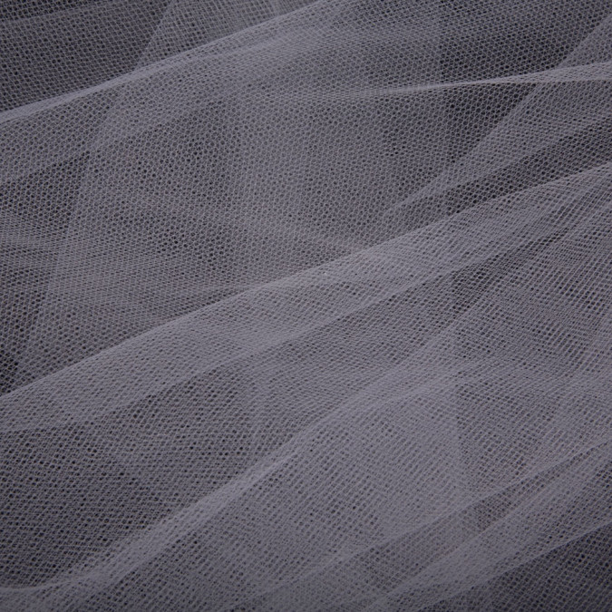gray solid nylon tulle fn13909 11