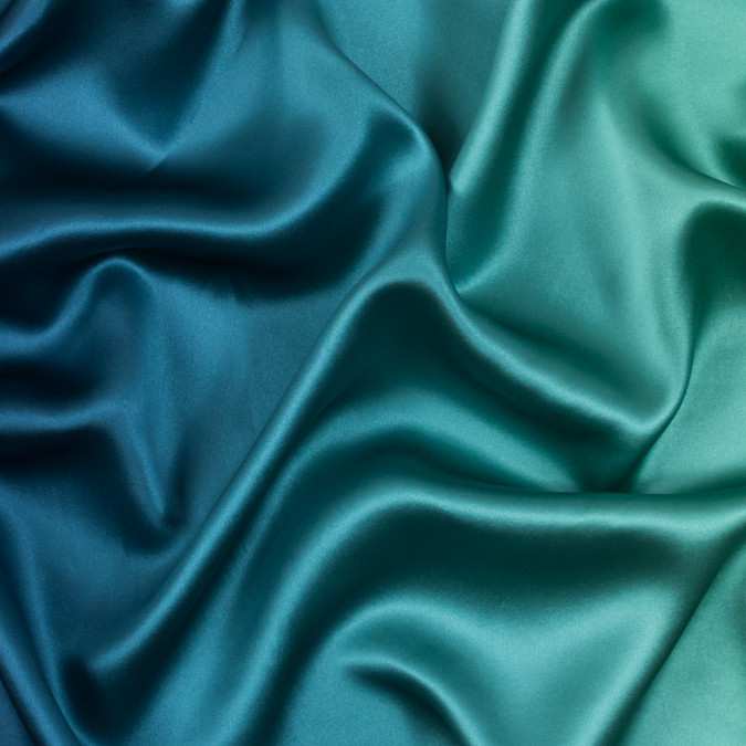 green and blue ombre silk charmeuse 314003 11