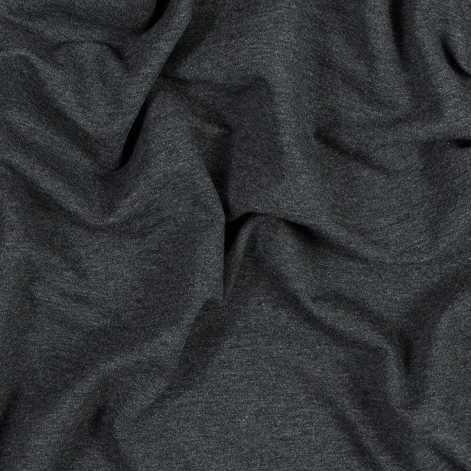 heather charcoal bamboo and cotton stretch knit fleece 316123 11
