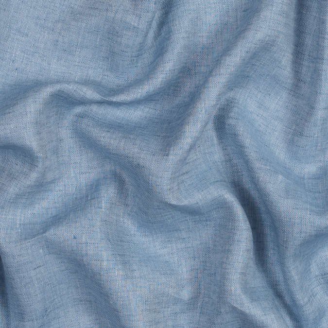 heathered baby blue cotton twill 316835 11