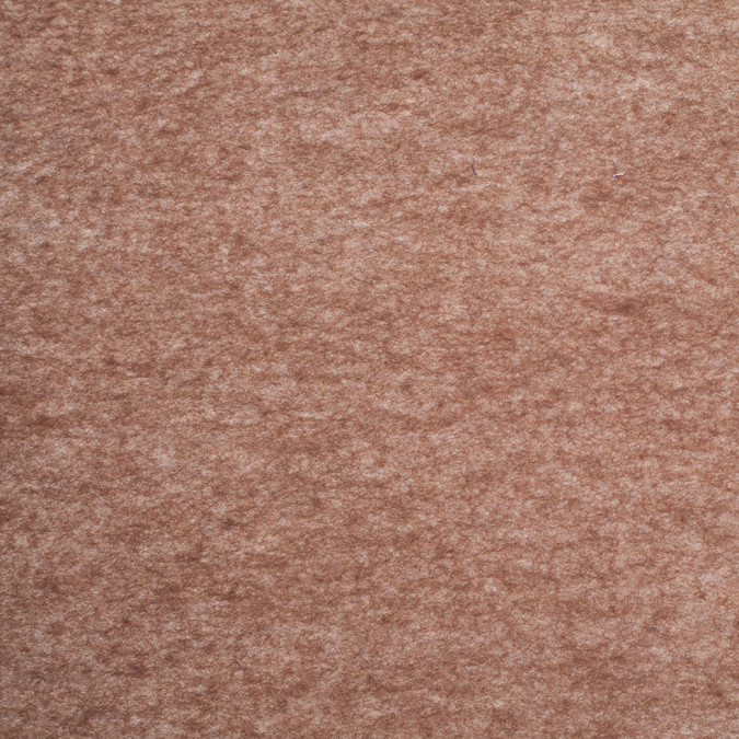 heathered dark earth brown felted wool blend 306496 11