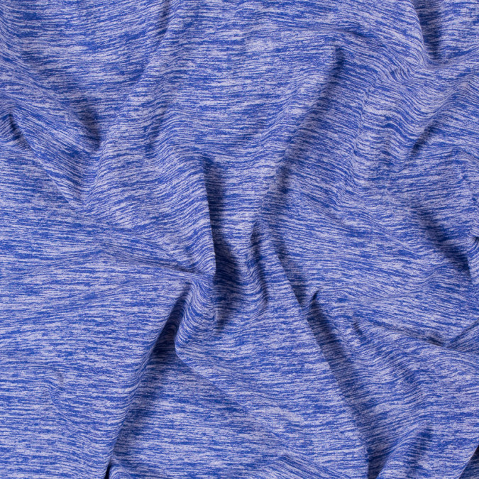 heathered violet blue stretch polyester jersey 312486 11