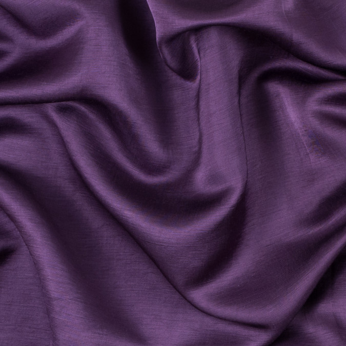 hortensia purple rayon and polyester slubbed satin 312176 11