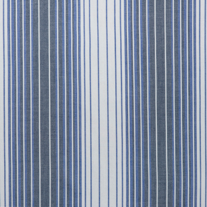imperial blue white smoked pearl gray striped viscose batiste 310742 11