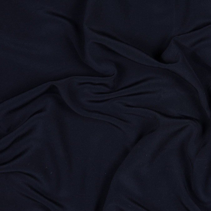 itailan navy stretch silk crepe de chine fs22854 11