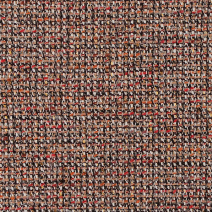 italian beige and red wool tweed 312244 11