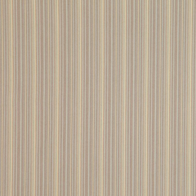 italian beige and yellow barcode striped stretch cotton suiting fc26486 11