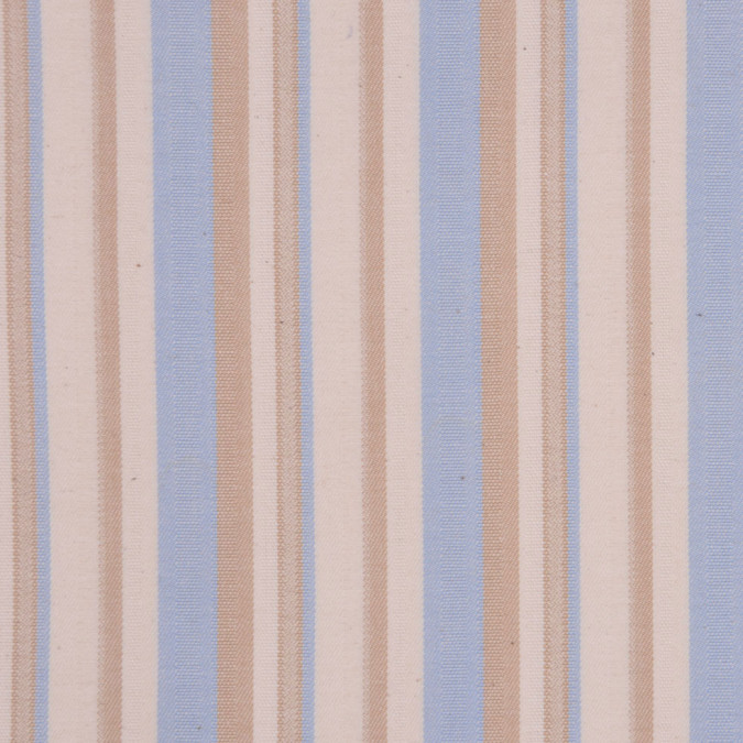 italian beige blue barcode striped cotton dobby suiting fc13000 11