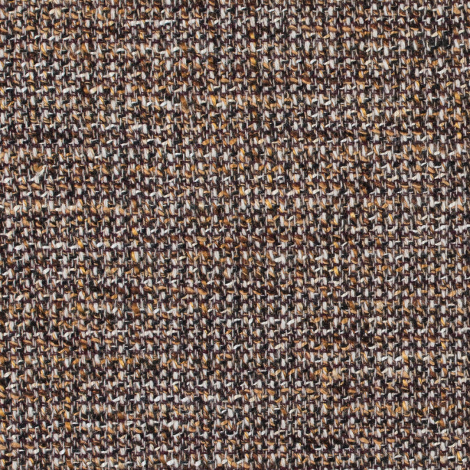 italian brown and beige wool tweed 312241 11