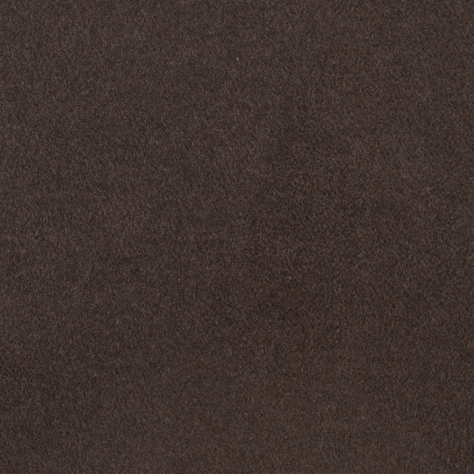italian dark brown wool blend coating 307826 11