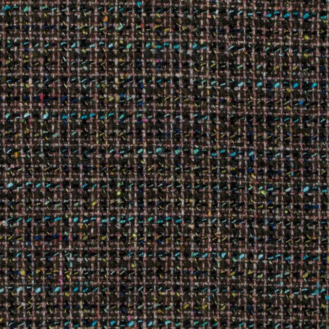 italian green and blue wool tweed 312236 11