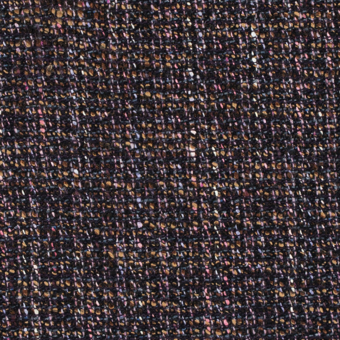 italian multi colored wool tweed 312246 11
