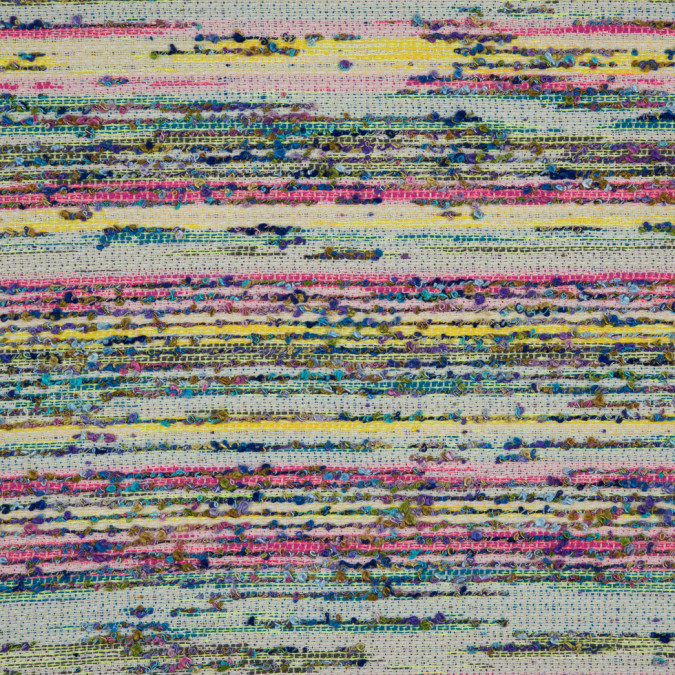 italian rainbow novelty woven boucle 310492 11