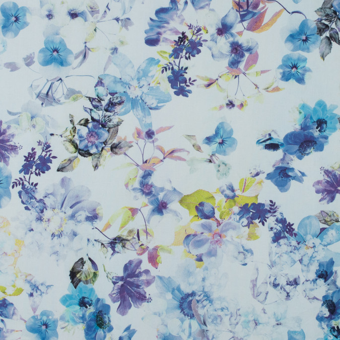 italian riviera blue and purple floral printed stretch cotton twill 316697 11
