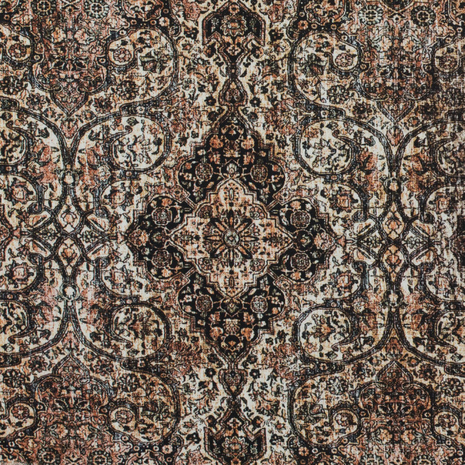 italian rustic paisley stretch cotton twill 316184 11