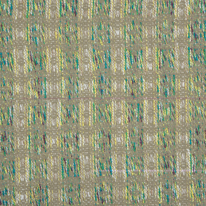 italian slate green pale olive green white abstract cotton jacquard 310501 11