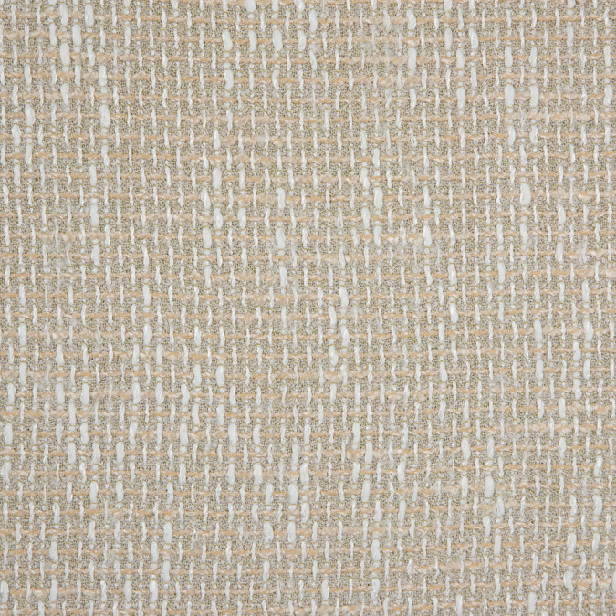 ivory beige rayon blended tweed 310691 11