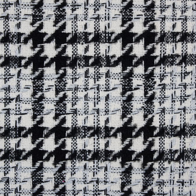 ivory black silver shepherd s plaid blended woven 310057 11