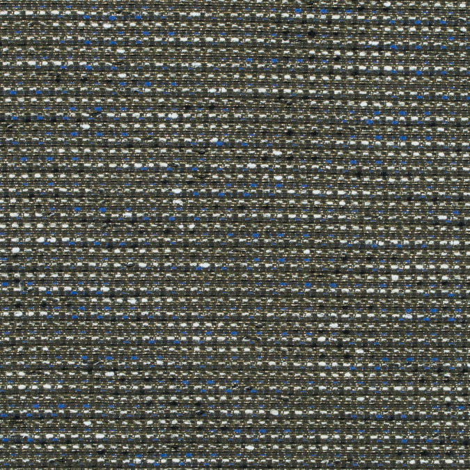 jay godfrey royal blue and metallic gold reversible tweed 314778 11