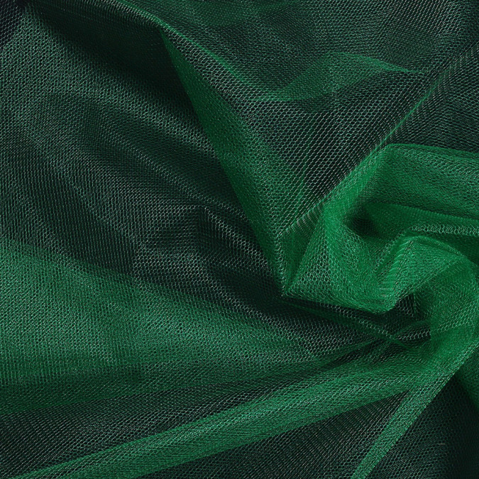 kelly green nylon net tulle fn19092 11