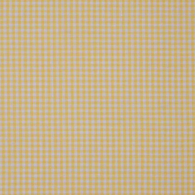lemon drop and white cotton gingham 311876 11