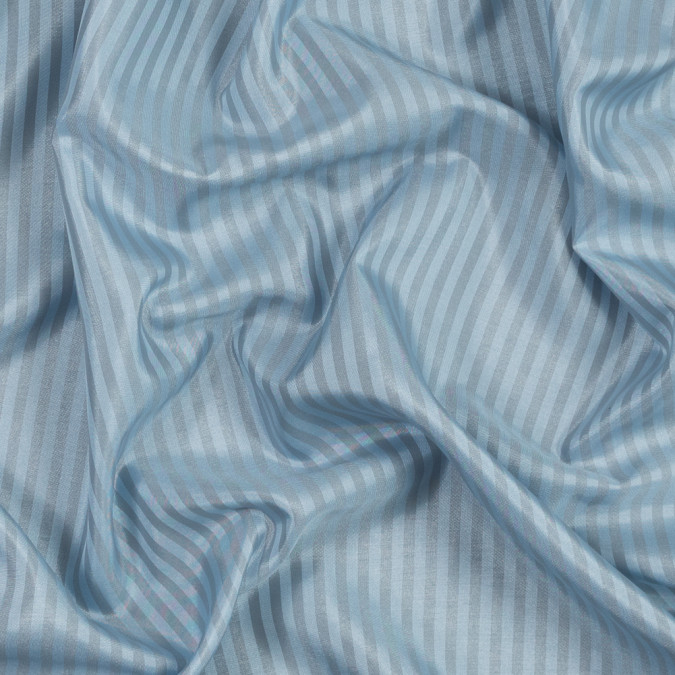 light blue and gray bengal striped polyester lining 319673 11