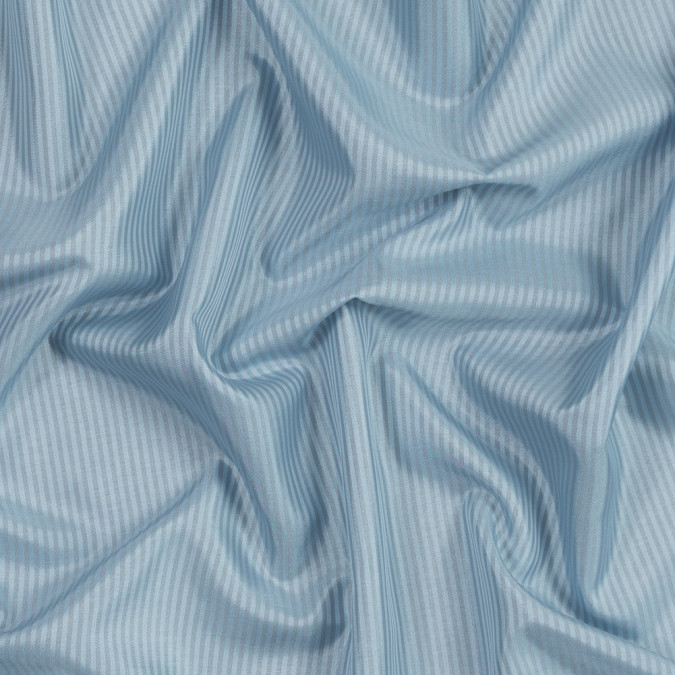 light blue and gray candy striped polyester lining 319675 11