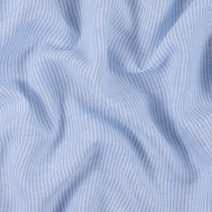 light blue candy striped light weight linen 310983 11