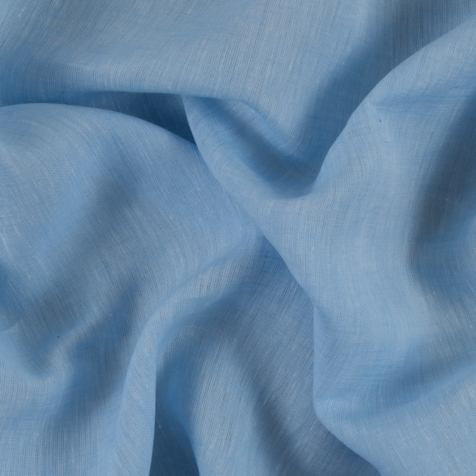 light blue solid light weight linen 310982 11