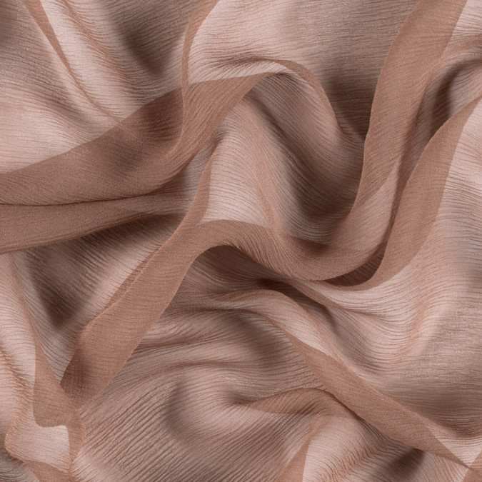 light brown silk crinkled chiffon pv5100 187 11