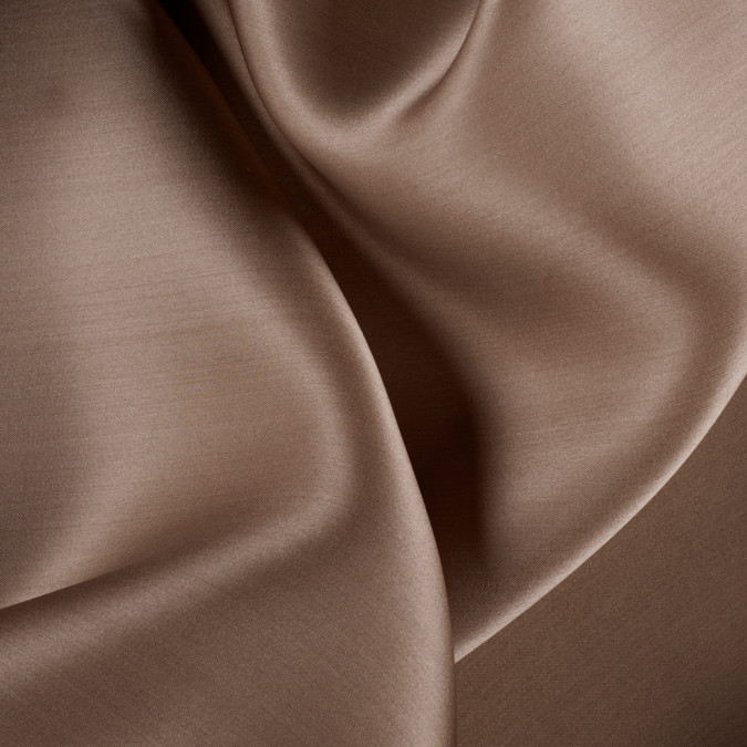light brown wide silk satin face organza pv4000 187 11