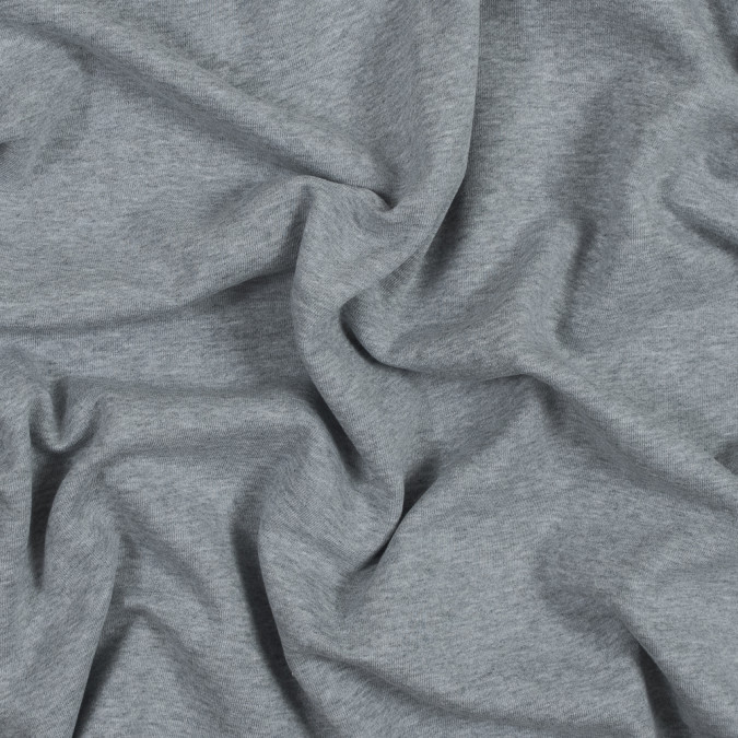 light gray cotton and polyester brushed fleece 316151 11