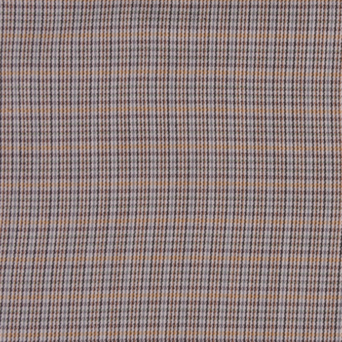 lightweight black and beige small houndstooth cotton suiting fc12894 11