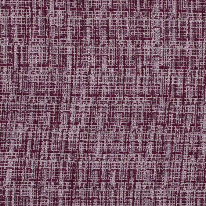 magenta and lavender polyester tweed 317873 11